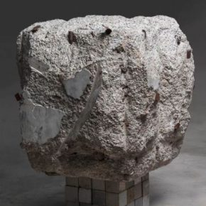 Song Hongquan Spirit Eye Cave 1 2019 Concrete pebble 100x100x100cm 290x290 - Song Hongquan: Underground will be presented by Chambers Fine Art in Beijing