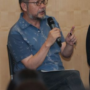 Professor Sui Jianguo, the former Director of the Department of Sculpture at the School of Fine Art in CAFA