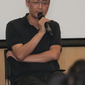 Qiu Zhijie, Dean of the School of Experimental Art at CAFA and Professor of the School of Intermedia Art at China Academy of Art
