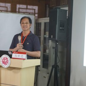 Ma Qinzhong, Professor of the School of Sculpture and Public Art at China Academy of Art and art theorist