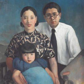 """The Artist's Family"" Chang Shuhong 1933"