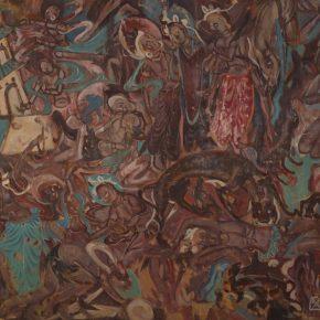 """""""Jataka of Prince Mahasattva"""" Chang Shuhong 1944"""