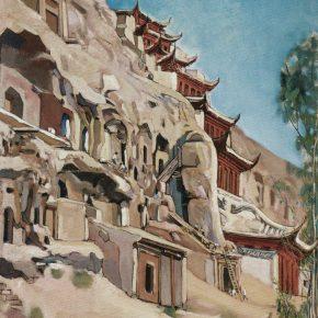 """""""The Nine-storey Building"""" Chang Shuhong 1952"""