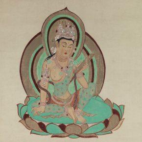 """Prayer Bodhisattva"" Chang Shana 1947"
