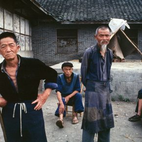 Bruno Barbey, A Peasant Home, Chengdu; Photography, 1980, 100×150cm