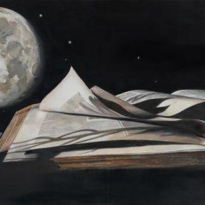 CHEN Zhuo Moon Melancholia 2017 Oil on canvas 80x140cm