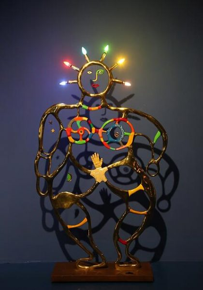 "Femme Bleue Sculpture Bronze polyureth ane paint 210x125x5cm 1994 1997 420x598 - Tang Contemporary Art presents ""Niki de Saint Phalle Solo Exhibition"" in Hong Kong"