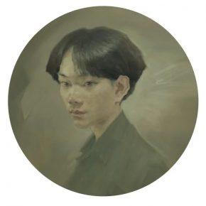 JIANG Shanchun Fan 2019 Oil on canvas D. 60cm