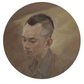 JIANG Shanchun Ran 2019 Oil on canvas D.60cm
