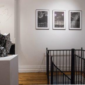 Jisook Kim & Hilda Shen: Orogenies installation view. Photograph by Nadia Peichao Lin. © Jisook Kim and Hilda Shen, courtesy Fou Gallery