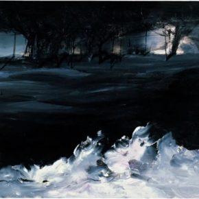 KANG Haitao White Wave 2006 Oil on paper 77x106cm