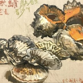 NI Jun Three Conches 2019 Oil on canvas 60x80cm