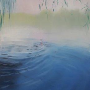 ZHANG Jian Houhai Series 2011 Oil on canvas 250x200cm